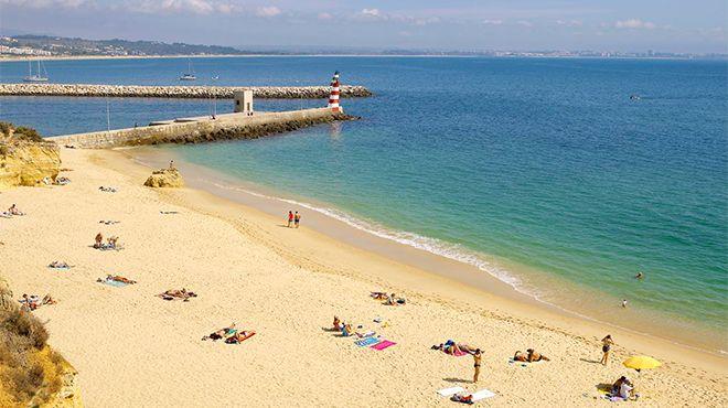 Praia da Batata 場所: Lagos 写真: Turismo do Algarve