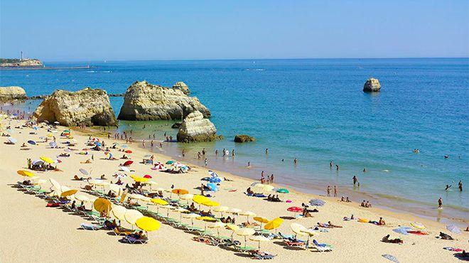 Praia dos Três Castelos Place: Portimão Photo: Turismo do Algarve
