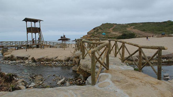 Praia da Ribeira d'Ilhas 場所: Ericeira
