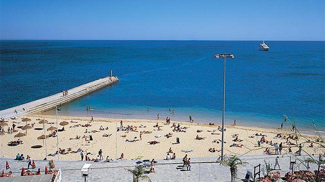 Praia das Moitas 場所: Cascais 写真: JTC Estoril