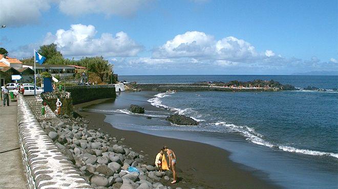 Praia do Almoxarife Ort: Açores Foto: C.M Horta