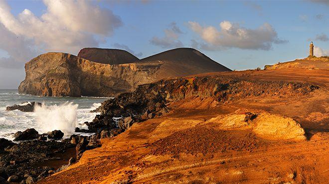 Vulcão dos Capelinhos - Faial Lugar Açores Foto: Maurício de Abreu - Turismo dos Açores