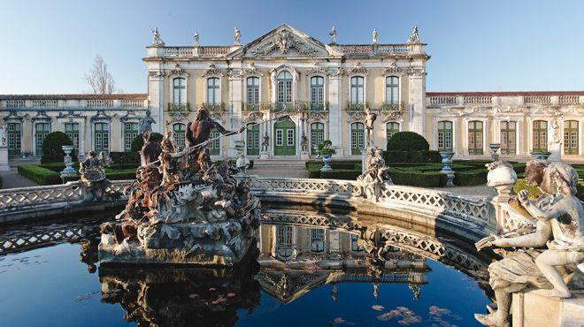 Palácio de Queluz 地方: Queluz 照片: Turismo do Estoril