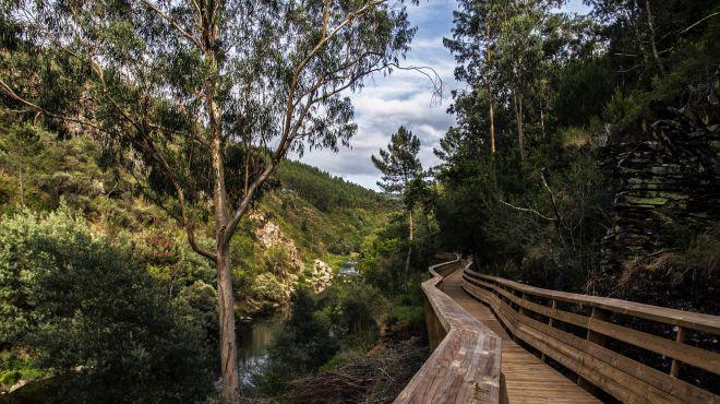 Passadiços do Paiva Lugar Arouca Geopark Foto: C. M. Arouca / Tiago Martins
