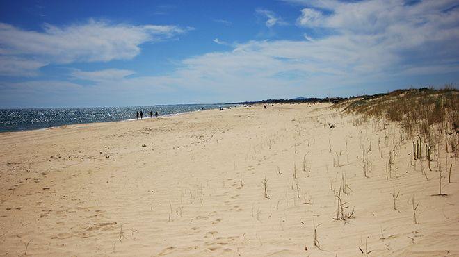 Praia da Alagoa Plaats: Altura - Castro Marim Foto: Turismo de Portugal