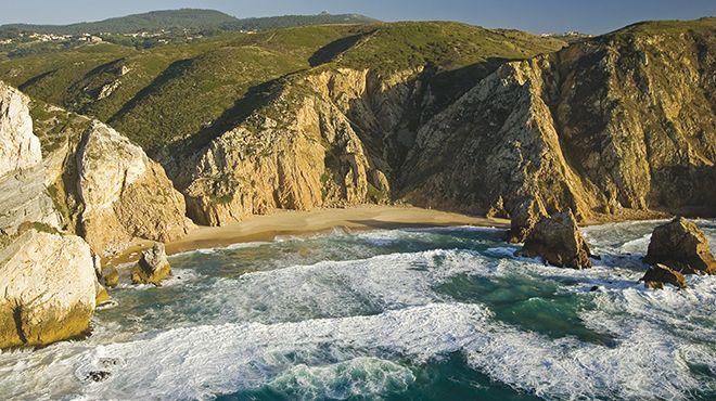 Praia da Ursa Ort: Sintra Foto: Turismo de Cascais