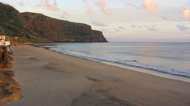 Praia Formosa Ort: Ilha de Santa Maria - Açores Foto: ABAE - Associação Bandeira Azul da Europa