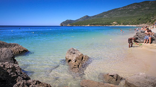 Praia de Galapos Place: Setúbal