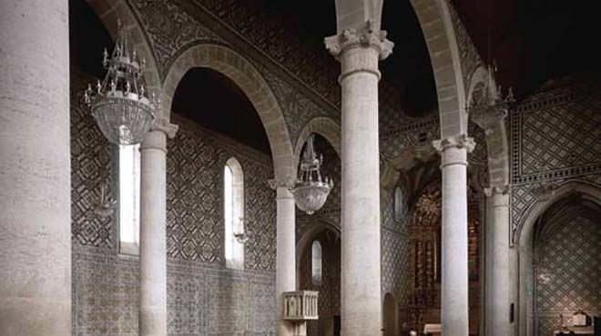 Igreja de Santa Maria de Marvila Place: Santarém Photo: Arquivo Turismo de Portugal
