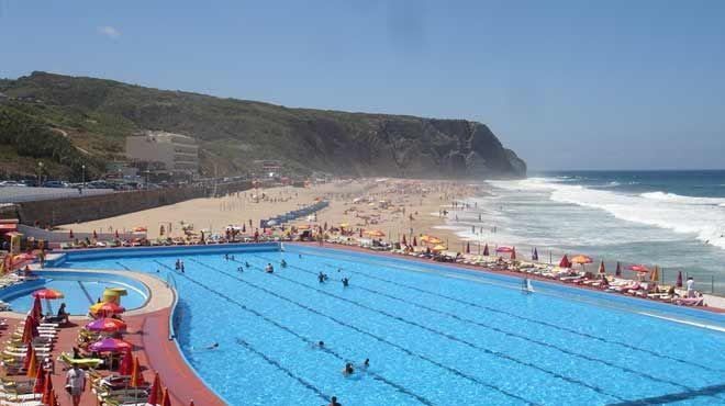 Praia Grande - Sintra Place: Sintra Photo: Associação Bandeira Azul da Europa