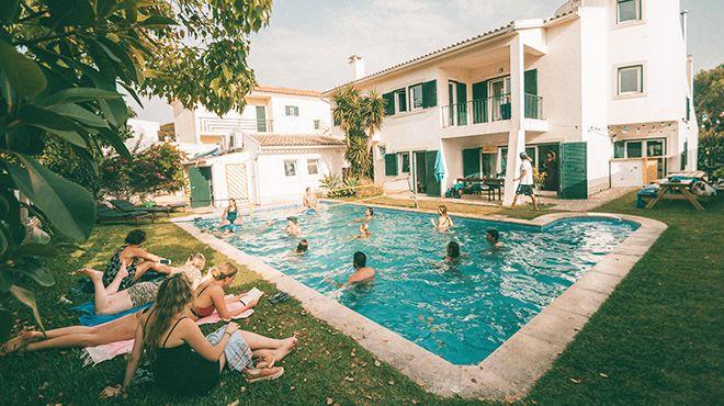 Surf Cascais / School / Villa / Shop Ort: Cascais Foto: Surf Cascais / School / Villa / Shop
