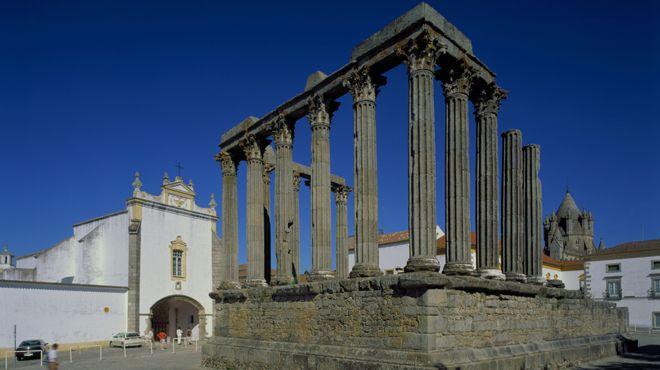 Templo Romano de Évora Lugar Évora Foto: João Paulo