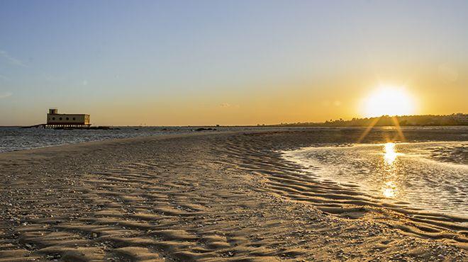 Praia da Ilha da Fuzeta Local: Olhão Foto: Shutterstock_AG_Carlos Neto