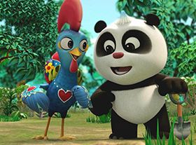 中葡合拍动画片《熊猫和卢塔》开播 (...)