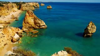 Algarve Local: Marinha Foto: Marinha