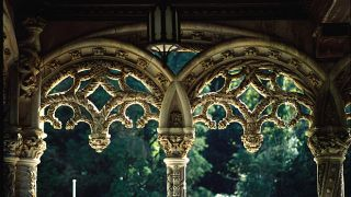Arcada do Hotel do Buçaco Local: Buçaco Foto: Paulo Magalhães