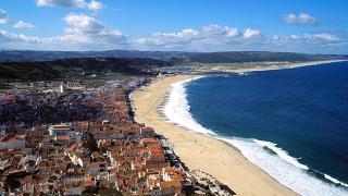 Praia Local: Nazaré Foto: Sebastião da Fonseca
