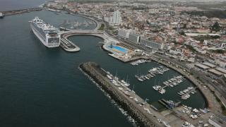 Portas do Mar em Ponta Delgada Place: Ilha de São Miguel nos Açores Photo: Publiçor