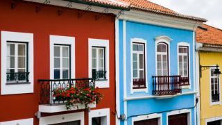 Casas típicas Local: Ilha Terceira nos Açores Foto: Turismo dos Açores