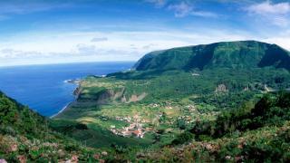 Vista Panorámica Place: Ilha das Flores nos Açores Photo: Paulo Magalhães