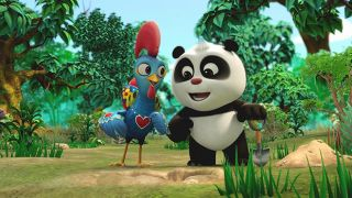 Panda and the Rooster 照片: CCTV Animation Group / Index Co., Ltd