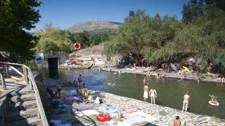 Praia Fluvial de Poço Corga Place: Castanheira de Pera Photo: Aldeias do Xisto