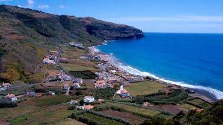 Baía da Praia Formosa Lieu: Ilha de Santa Maria - Açores Photo: Turismo dos Açores