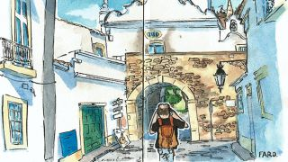 Urban Sketchers - Hélio Boto - Faro -  地方: Algarve 照片: Hélio Boto