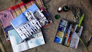 Urban Sketchers - João Moreno - Évora - Place: Alentejo Photo: João Moreno
