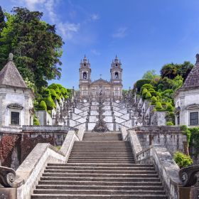 Santuario Bom Jesus Monte BragaМесто: BragaФотография: Shutterstock_Henner Damke