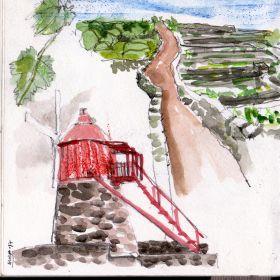 Urban Sketchers nos Açores - Alexandra BaptistaFoto: Alexandra Baptista