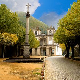 Santuário de Nossa Senhora da AbadiaOrt: AmaresFoto: Moisés Soares - Munícipio de Amares