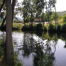 Praia fluvial de Aldeia Viçosa地方: Guarda照片: ABAE
