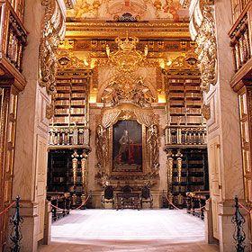 Biblioteca JoaninaLieu: Universidade de CoimbraPhoto: Sebastião da Fonseca