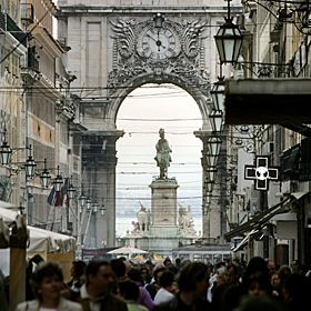 Baixa - LisboaМесто: BaixaФотография: Turismo de Lisboa