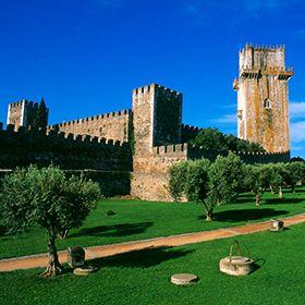 Torre do castelo地方: Beja照片: RTPD