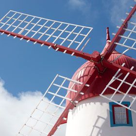 WindmillPlaats: Ilha Graciosa nos AçoresFoto: Turismo dos Açores