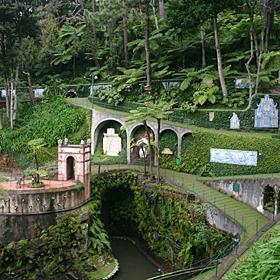 Monte Palace地方: Monte照片: Turismo da Madeira