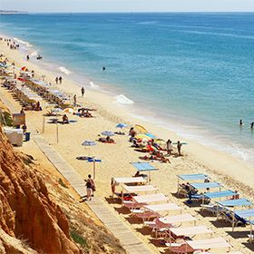 Praia da Falésia - Açoteias / AlfamarPhoto: Helio Ramos - Turismo do Algarve
