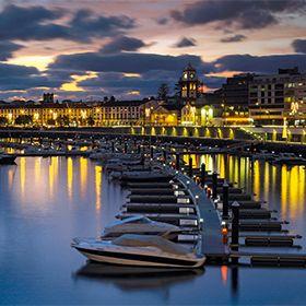 Marina de Ponta DelgadaPhoto: Turismo dos Açores