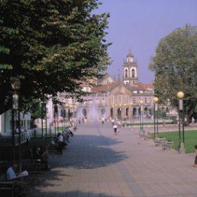 Mapa de Braga - Itinerário Turístico AcessívelFoto: ICVM / Turismo de Portugal