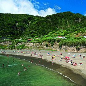 Praia do Fogo - Ribeira QuenteLieu: Povoação - Ilha de São MiguelPhoto: Arquivo Turismo de Portugal