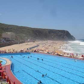 Praia Grande - SintraLocal: SintraFoto: Associação Bandeira Azul da Europa