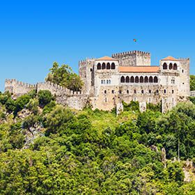 Castelo de LeiriaLocal: LeiriaFoto: shutterstock_saiko3p