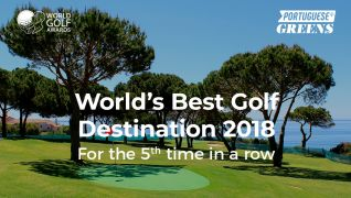 Portugal, the World's Best Golf Destination for the 5th time