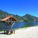 Praia fluvial da Quinta do Alamal Place: Gavião Photo: Arquivo Turismo de Portugal
