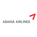 Asiana Airlines logo Photo: Asiana Airlines