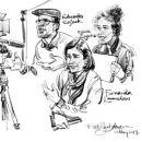Urban Sketchers em Fátima - Rob Sketcherman 地方: Fátima 照片: Rob Sketcherman