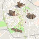 Mapa de Évora - Itinerário Turístico Acessível  Photo: ICVM / Turismo de Portugal