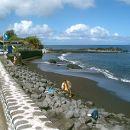 Praia do Almoxarife Local: Açores Foto: C.M Horta